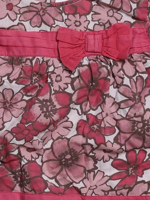 Detail photo of Preloved Monsoon Pink Girl's dress - size 18-24 mths