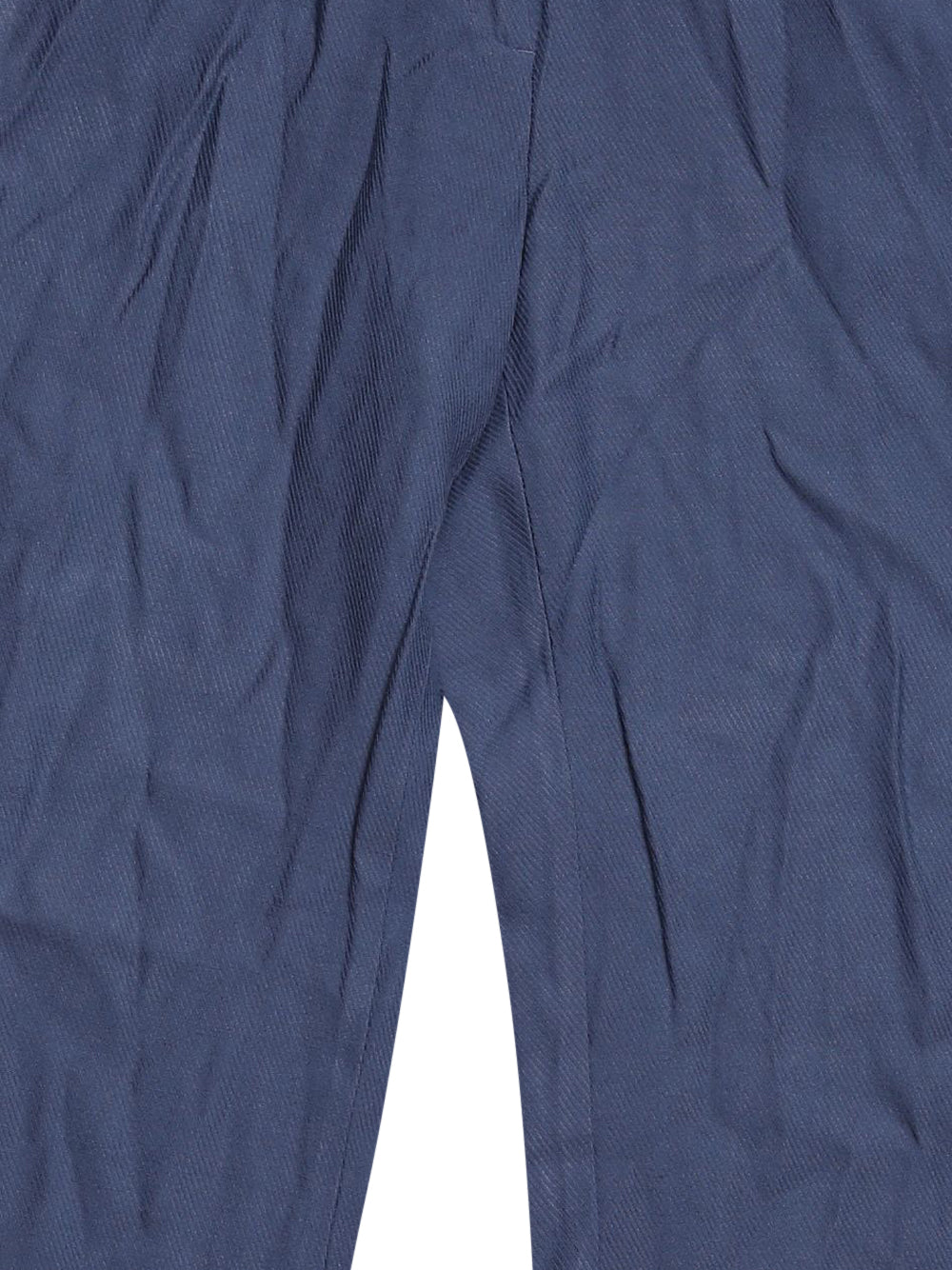 Detail photo of Preloved Massimo Dutti Blue Woman's trousers - size 6/XS