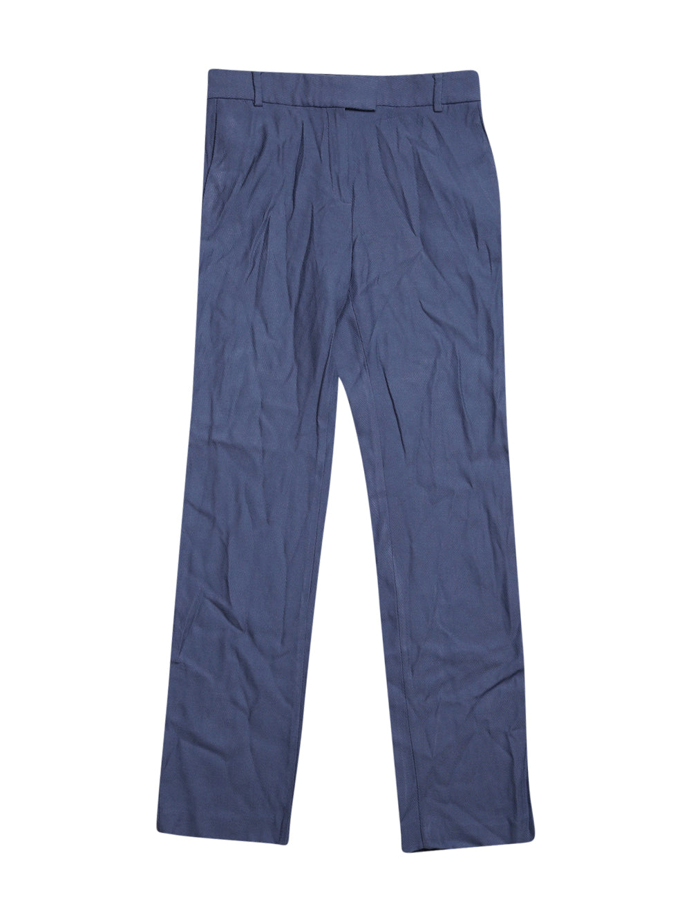 Front photo of Preloved Massimo Dutti Blue Woman's trousers - size 6/XS