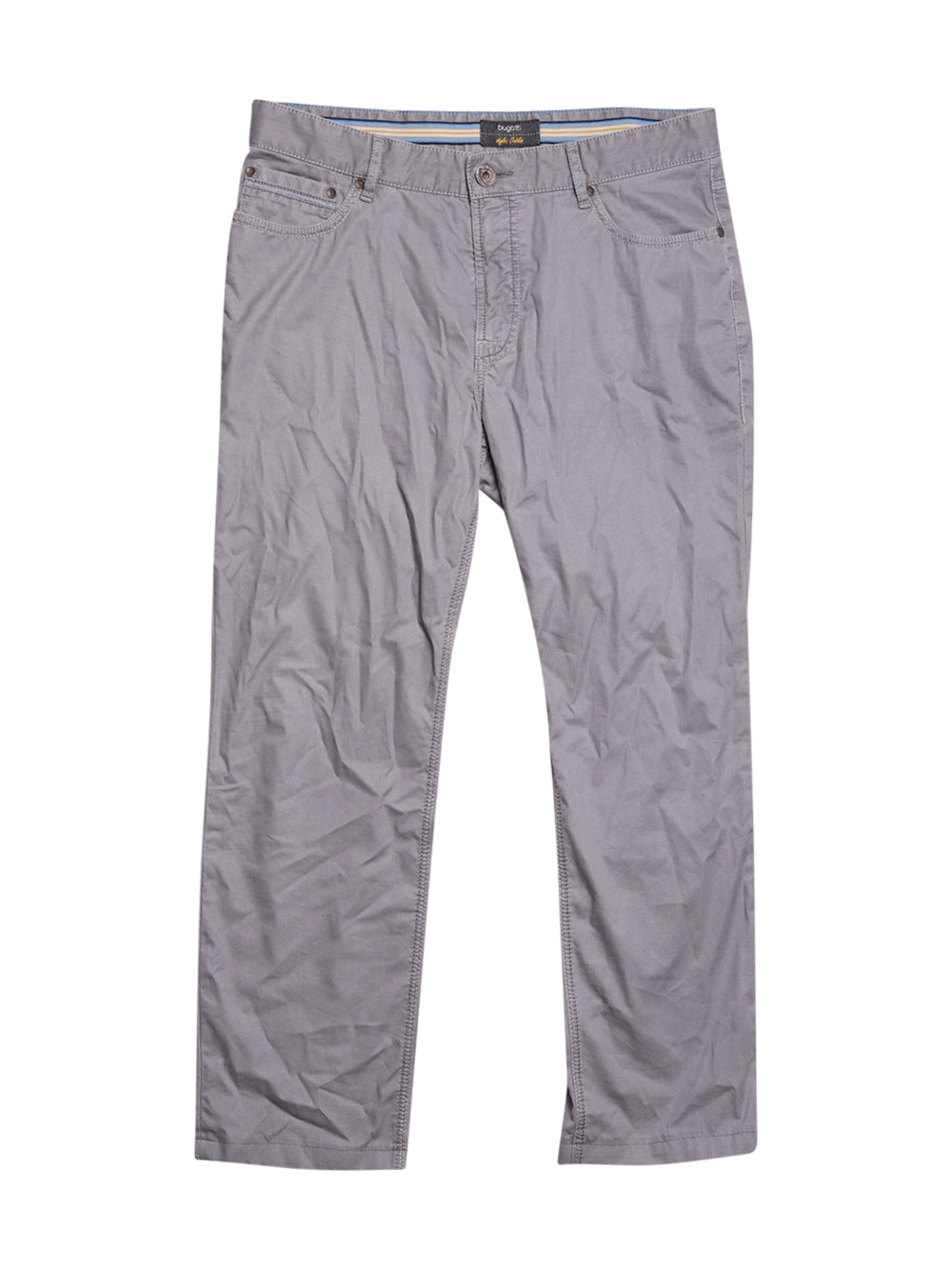 Front photo of Preloved Bugatti Grey Man's trousers - size 40/L