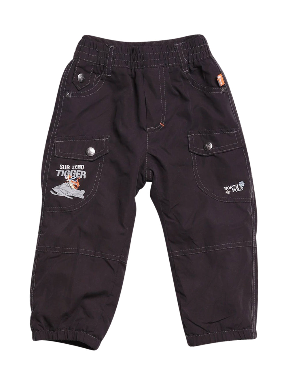 Front photo of Preloved Disney Black Boy's trousers - size 12-18 mths
