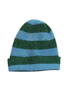 Front photo of Preloved Fornarina Blue Woman's hat - size one-size