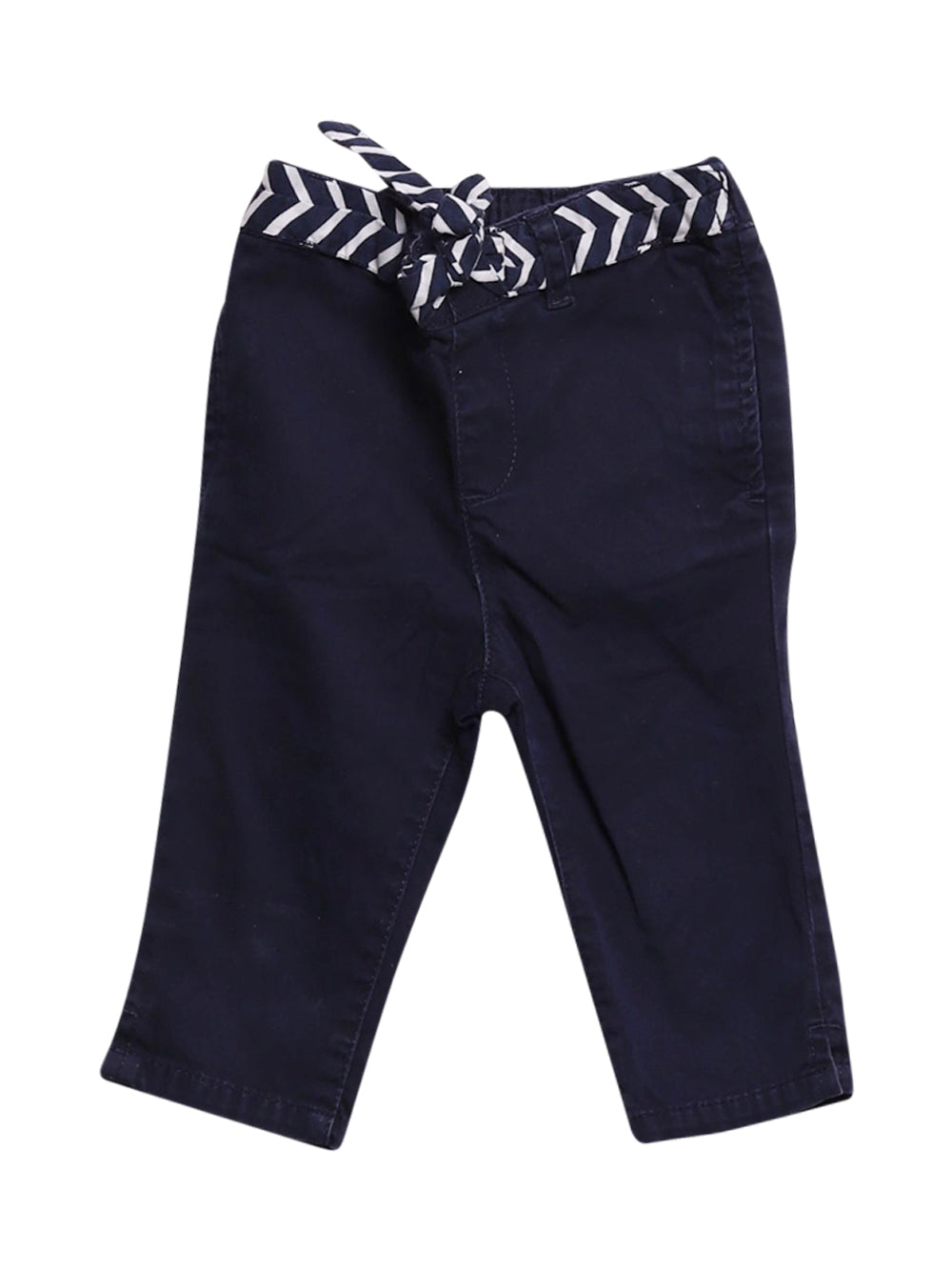 Front photo of Preloved Gap Blue Girl's trousers - size 18-24 mths
