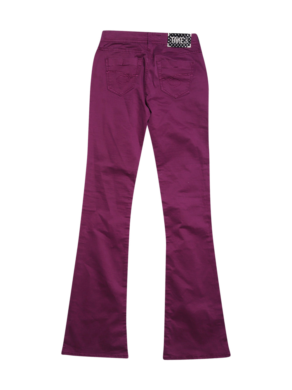 Back photo of Unworn Take Two Violet Woman's trousers - size 8/S