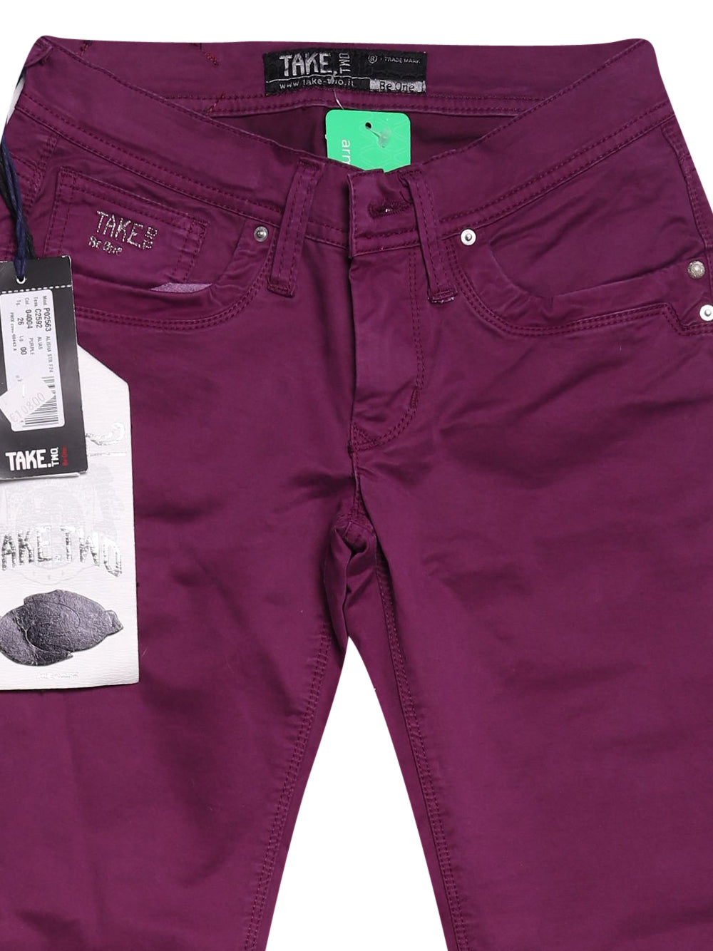 Detail photo of Unworn Take Two Violet Woman's trousers - size 8/S
