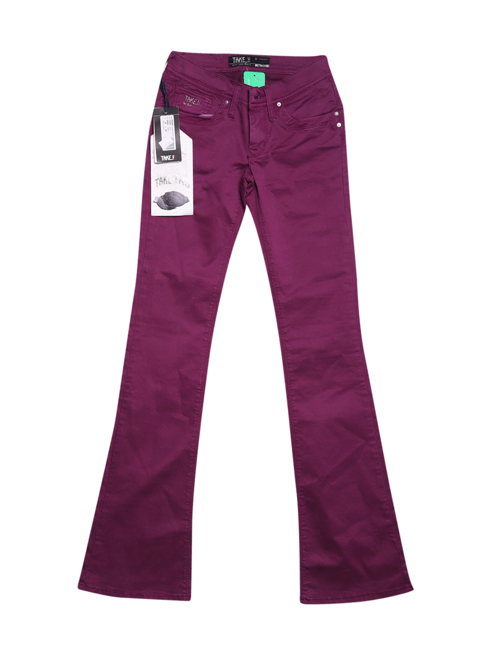 Front photo of Unworn Take Two Violet Woman's trousers - size 8/S