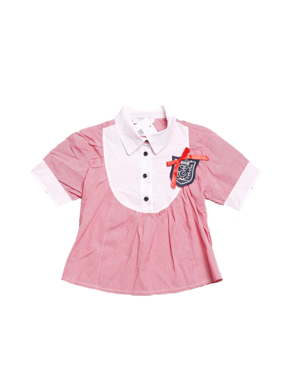 Front photo of Preloved Girl Red Girl's shirt - size 3-4 yrs