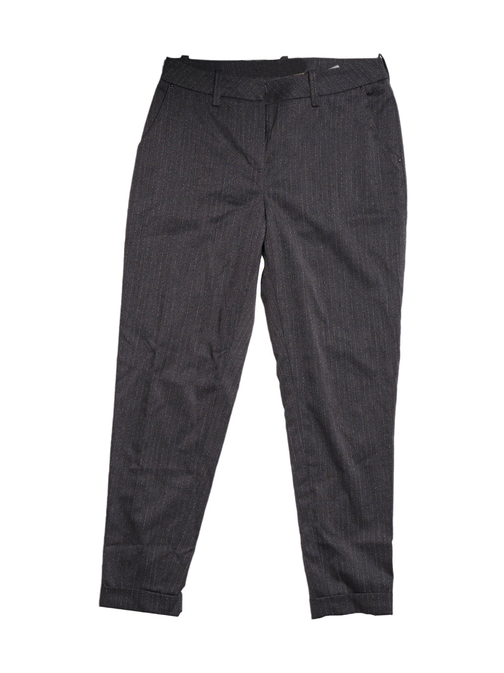 Front photo of Preloved Met Grey Woman's trousers - size 10/M
