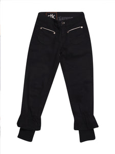 Front photo of Preloved stk Black Woman's trousers - size 4/XXS