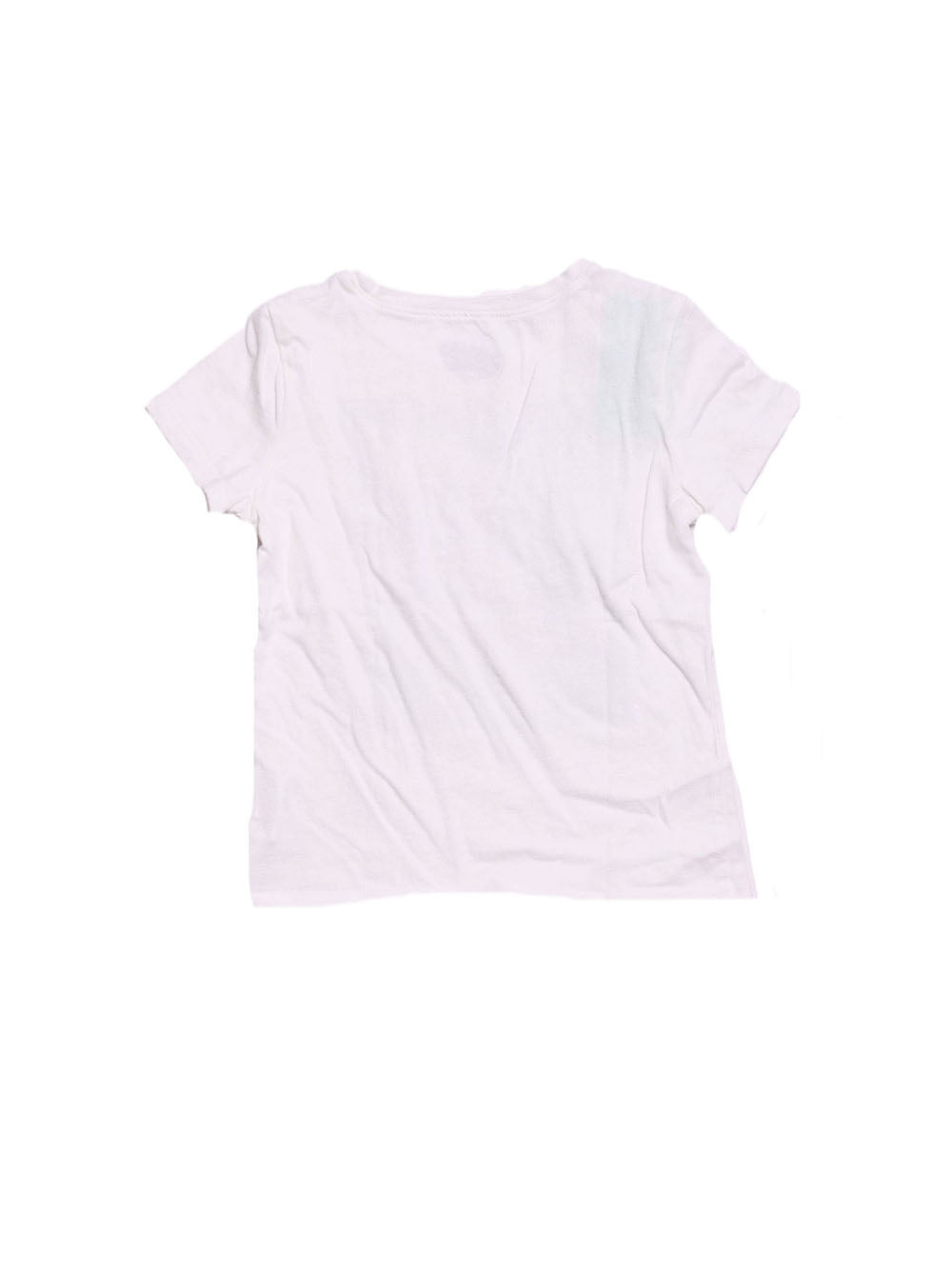 Back photo of Preloved Old Navy White Girl's t-shirt - size 4-5 yrs