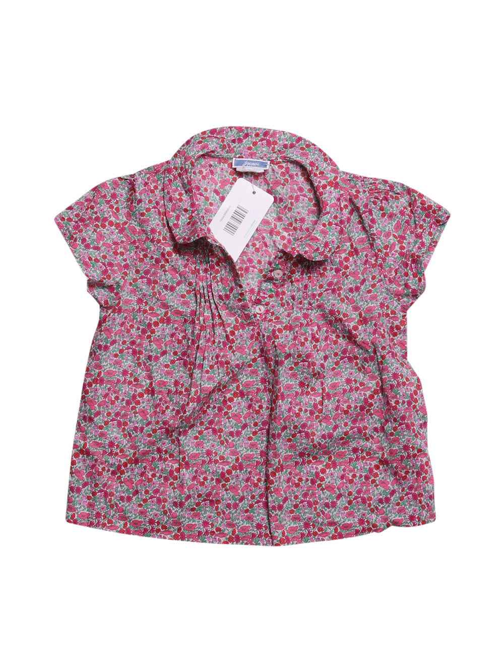 Front photo of Preloved Jacadi Pink Girl's shirt - size 3-4 yrs