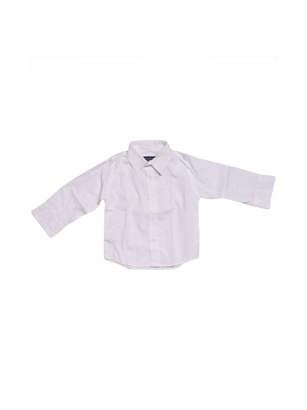 Front photo of Preloved Manuell & Frank White Boy's shirt - size 12-18 mths