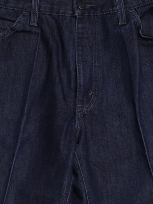 Detail photo of Preloved Levi's Blue Woman's trousers - size 8/S