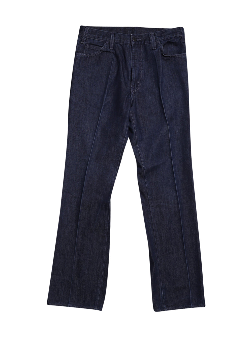 Front photo of Preloved Levi's Blue Woman's trousers - size 8/S