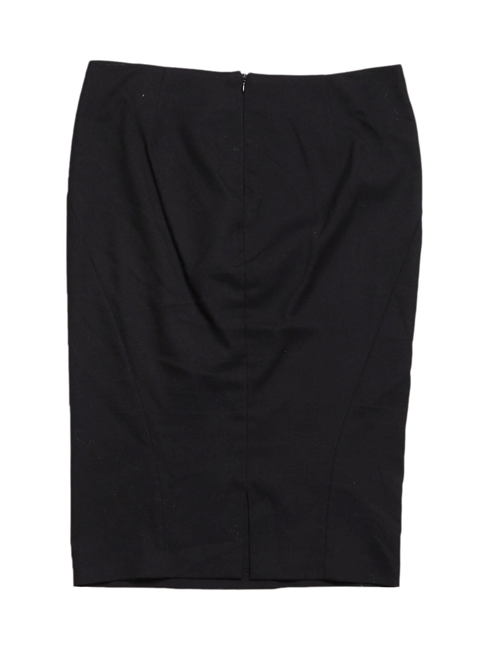 Back photo of Preloved Sisley Black Woman's skirt - size 8/S