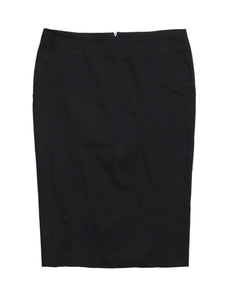 Front photo of Preloved Sisley Black Woman's skirt - size 8/S