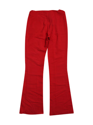 Back photo of Preloved machinchose Red Woman's trousers - size 10/M