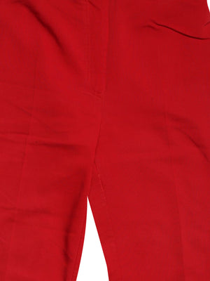 Detail photo of Preloved machinchose Red Woman's trousers - size 10/M