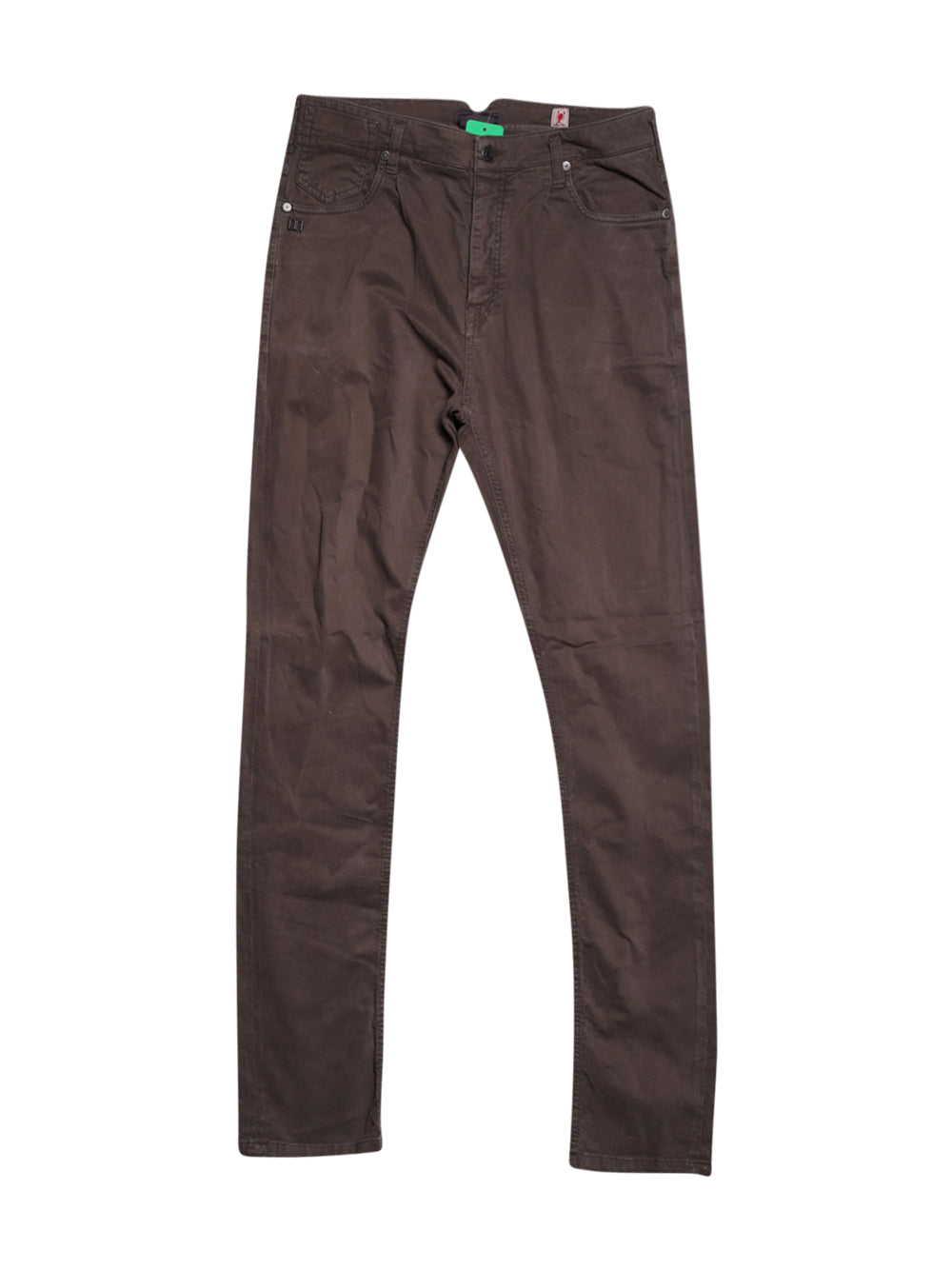 Front photo of Preloved Daniele Alessandrini Brown Man's trousers - size 32/XXS