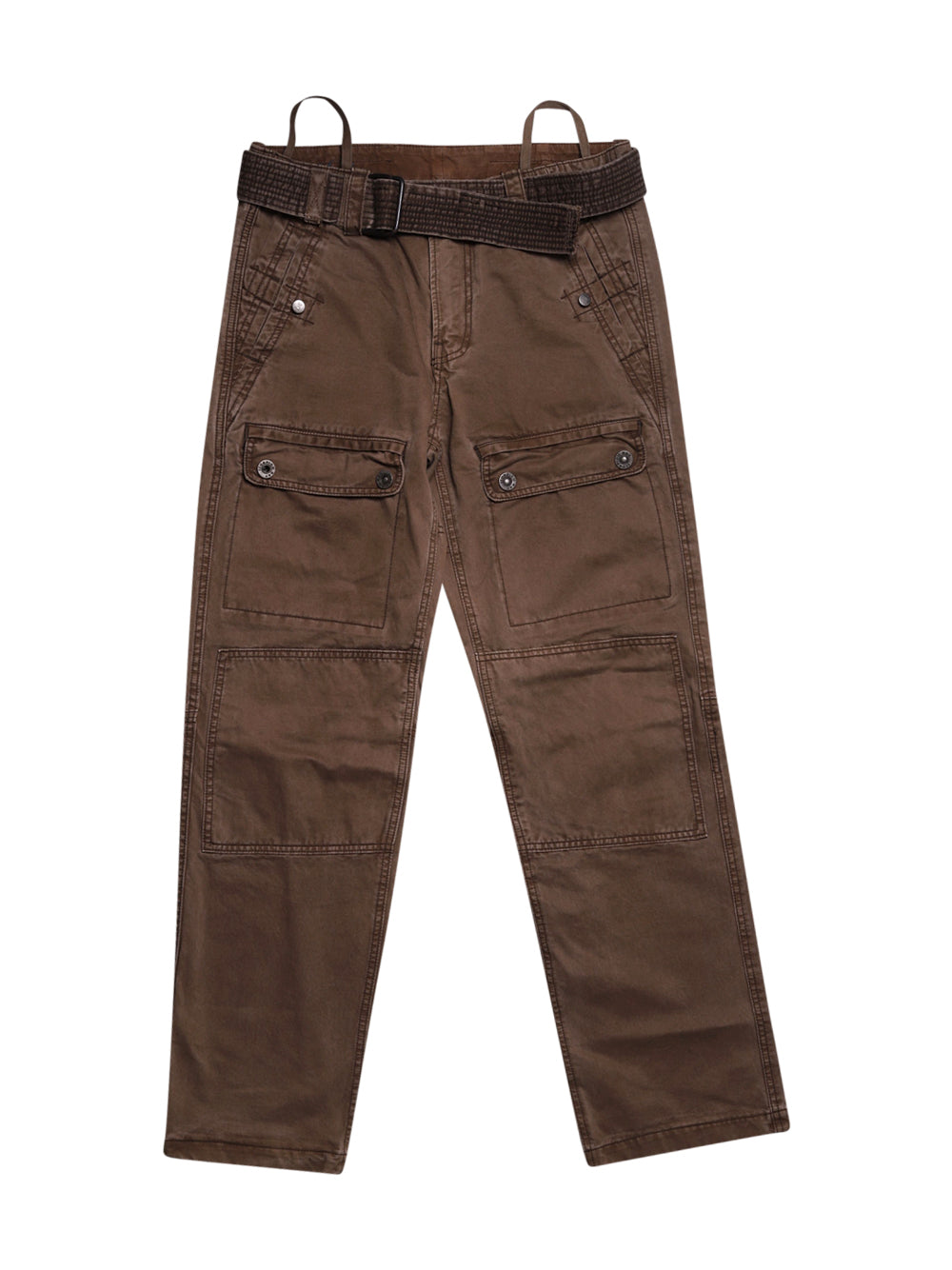 Front photo of Preloved Scorpion Bay Brown Man's trousers - size 38/M