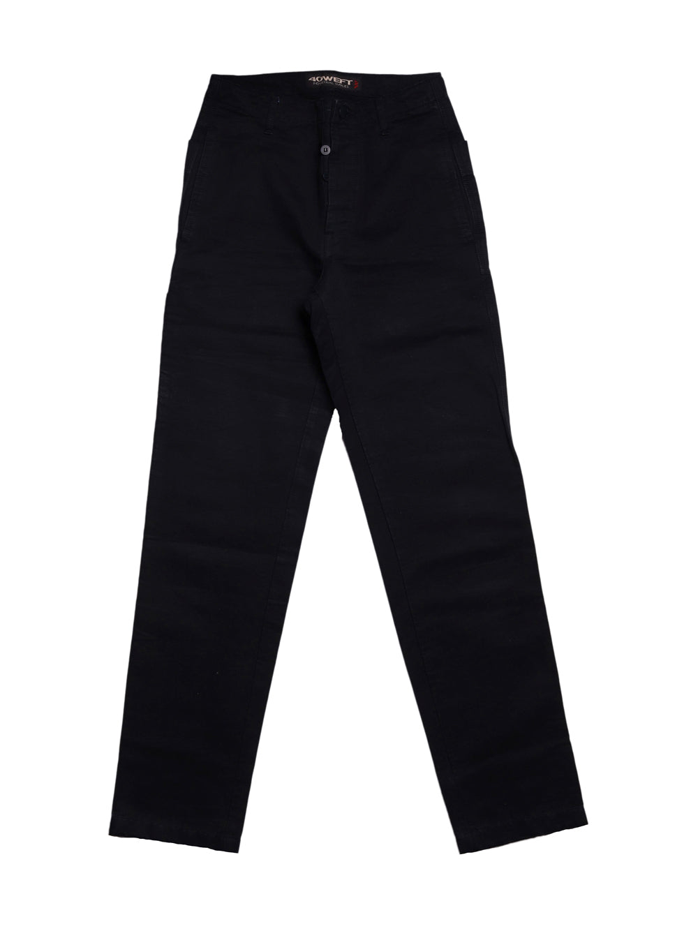 Front photo of Preloved 40 Weft Black Man's trousers - size 32/XXS