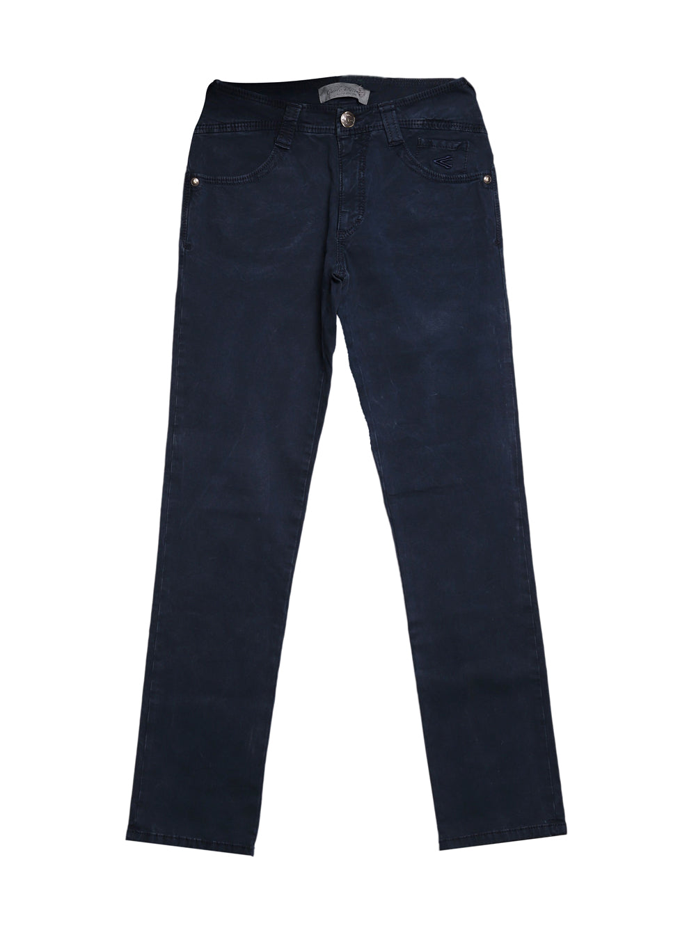 Front photo of Preloved Carlo Chionna (9.2) Blue Man's trousers - size 36/S