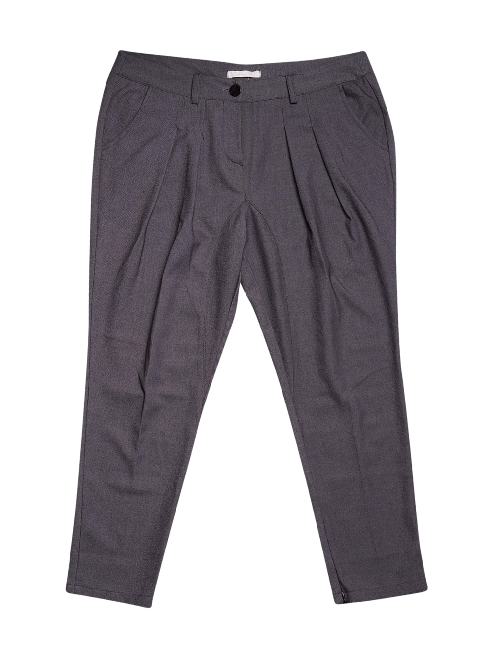 Front photo of Preloved prima linea Grey Woman's trousers - size 14/XL
