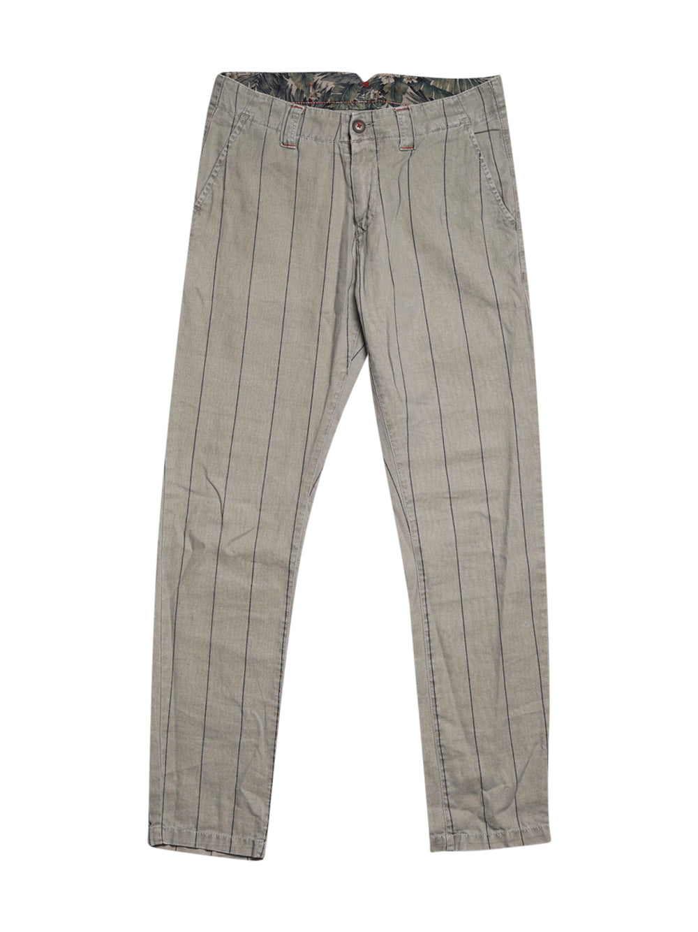 Front photo of Preloved Baker's Grey Man's trousers - size 36/S