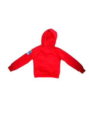 Back photo of Preloved Silvian Heach Red Boy's sweatshirt - size 18-24 mths