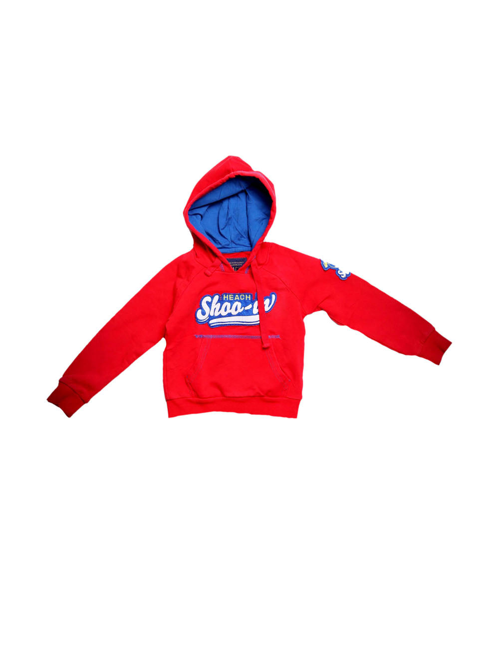 Front photo of Preloved Silvian Heach Red Boy's sweatshirt - size 18-24 mths