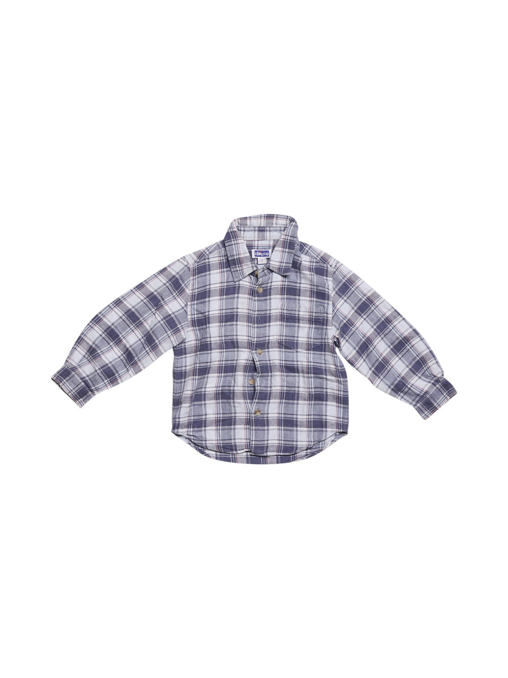 Front photo of Preloved Chicco Blue Boy's shirt - size 2-3 yrs