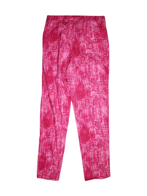 Back photo of Unworn Elena Mirò Pink Woman's trousers - size 16/XXL