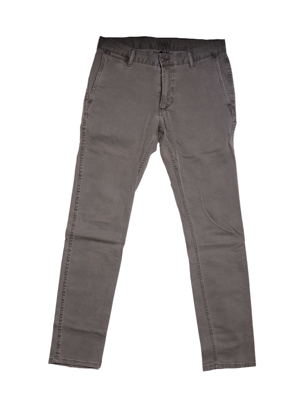 Front photo of Preloved Dockers Grey Man's trousers - size 36/S