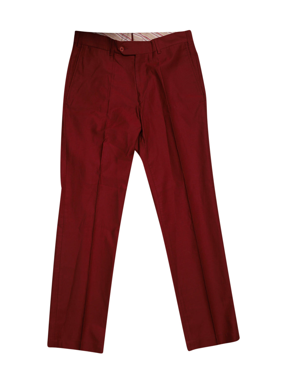 Front photo of Preloved Luca D'altieri (Coin) Red Man's trousers - size 38/M