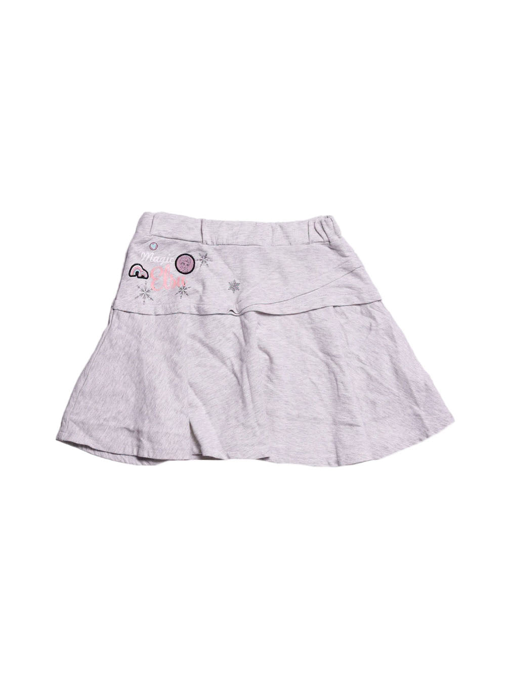 Front photo of Preloved Disney Grey Girl's skirt - size 9-10 yrs