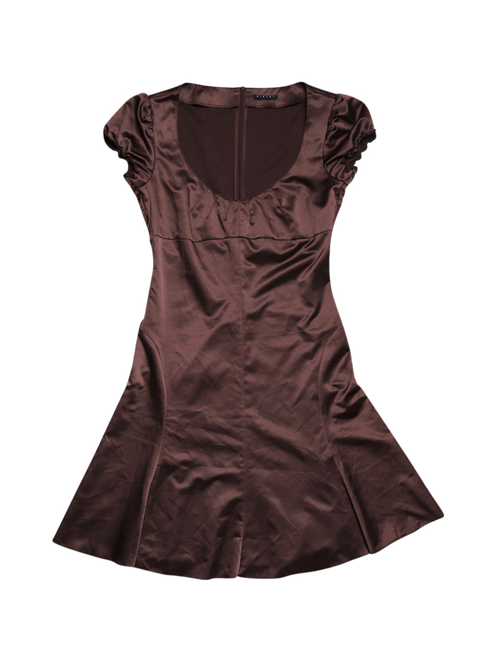 Front photo of Preloved Sisley Brown Woman's dress - size 8/S