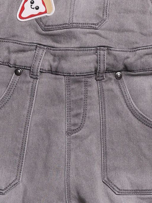 Detail photo of Preloved Chicco Grey Boy's overalls - size 12-18 mths