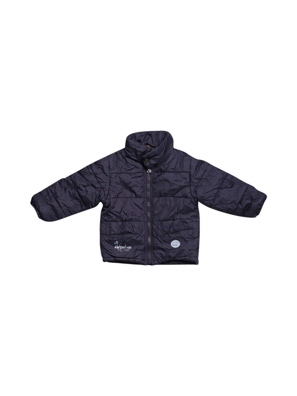 Front photo of Preloved expedition Blue Girl's jacket - size 2-3 yrs