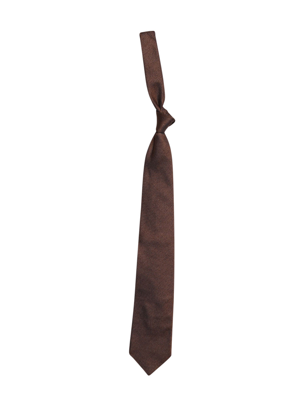Front photo of Preloved sartoria italiana Brown Man's tie - size one-size