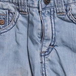 Detail photo of Preloved Sarabanda Light-blue Boy's trousers - size 12-18 mths