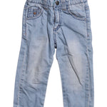 Front photo of Preloved Sarabanda Light-blue Boy's trousers - size 12-18 mths