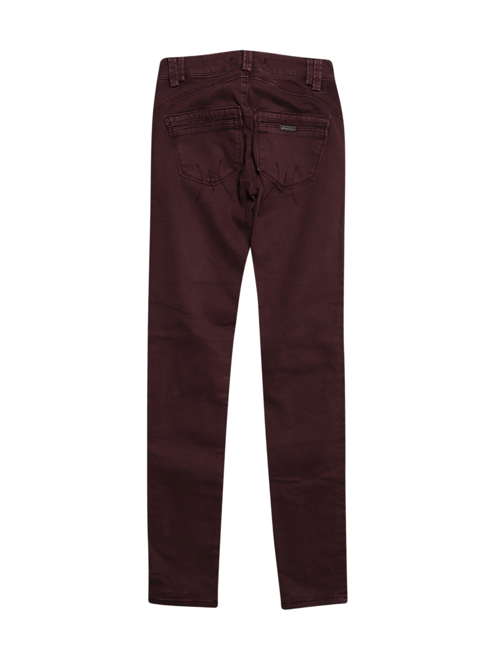 Back photo of Preloved Fornarina Bordeaux Woman's trousers - size 6/XS