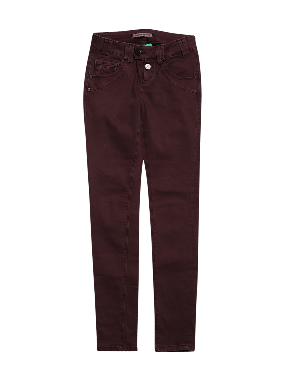 Front photo of Preloved Fornarina Bordeaux Woman's trousers - size 6/XS
