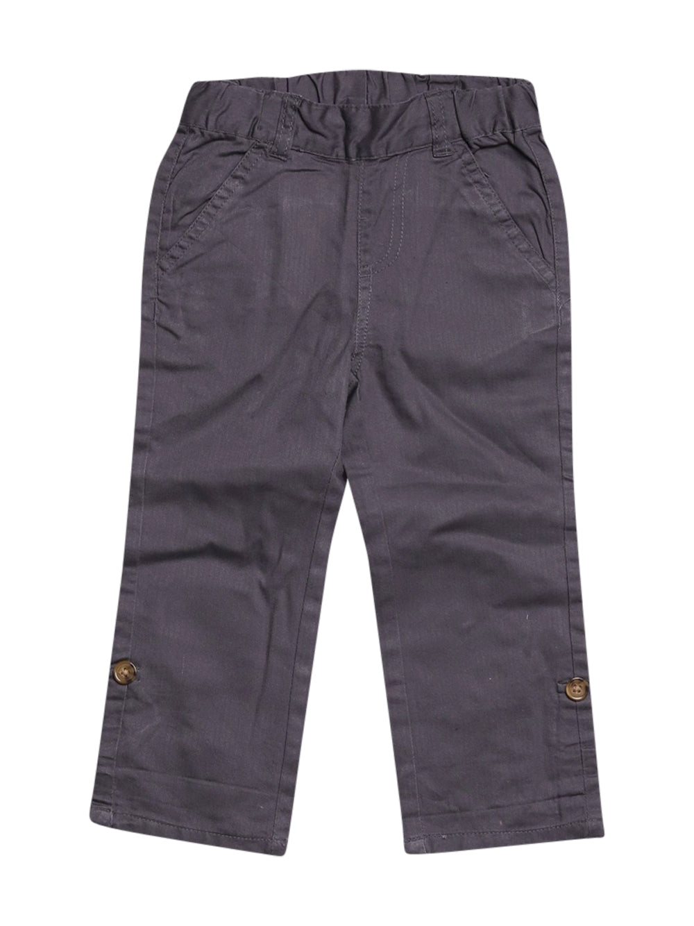 Front photo of Preloved kaibi Grey Boy's trousers - size 18-24 mths