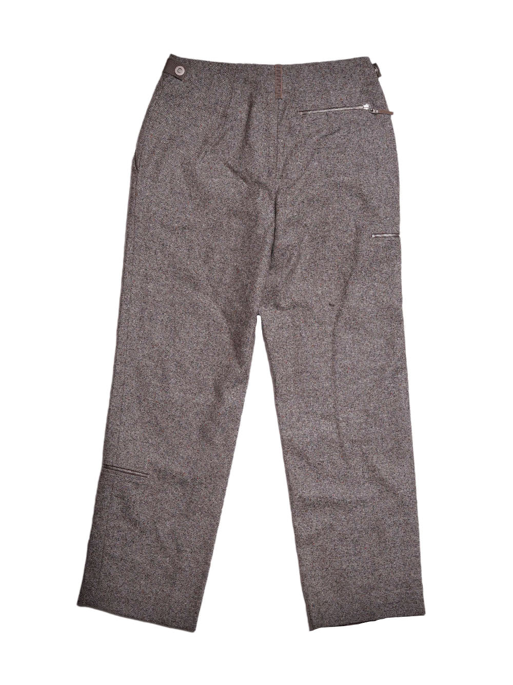 Back photo of Preloved Gunex  Grey Woman's trousers - size 6/XS
