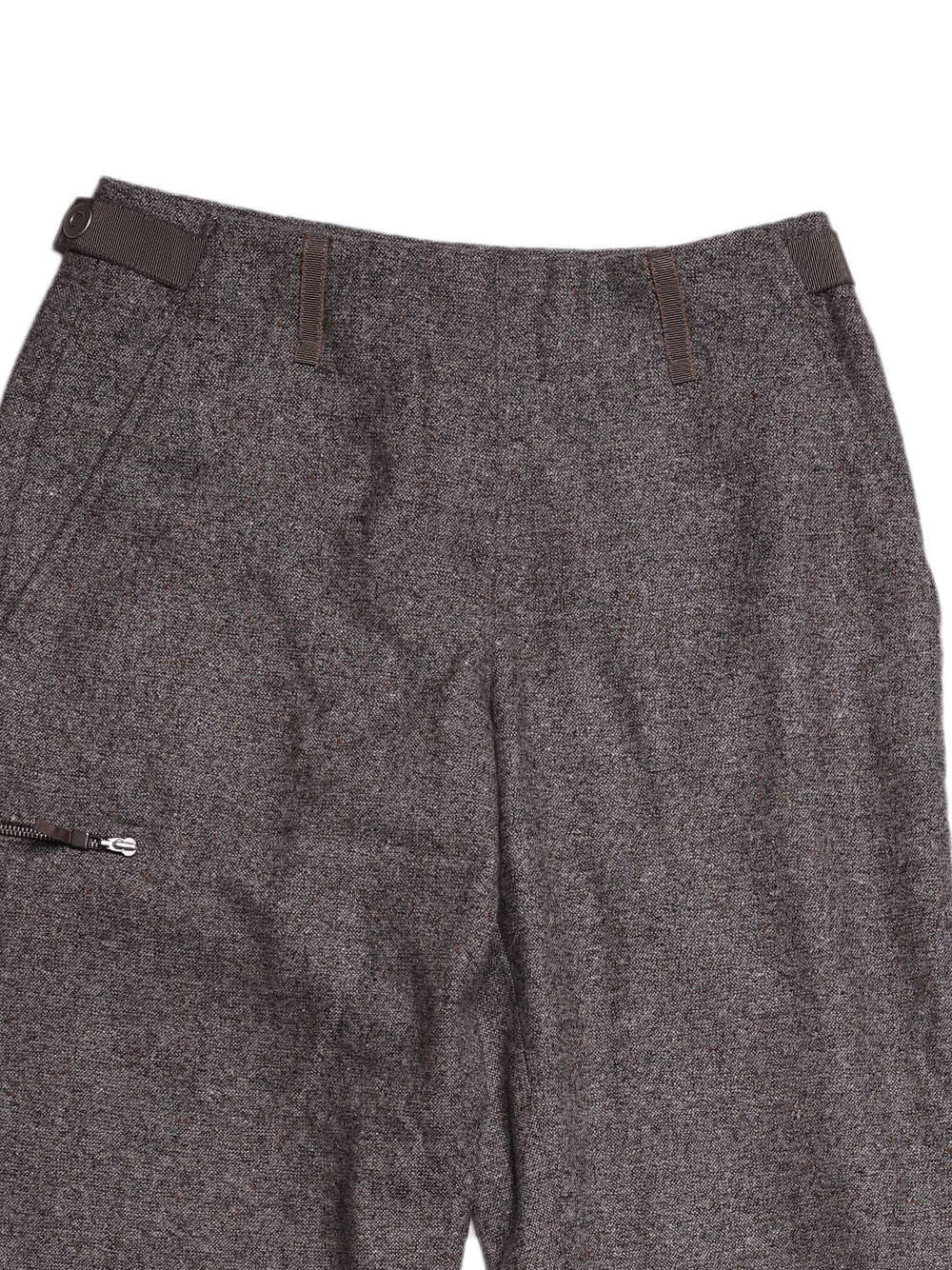 Detail photo of Preloved Gunex  Grey Woman's trousers - size 6/XS