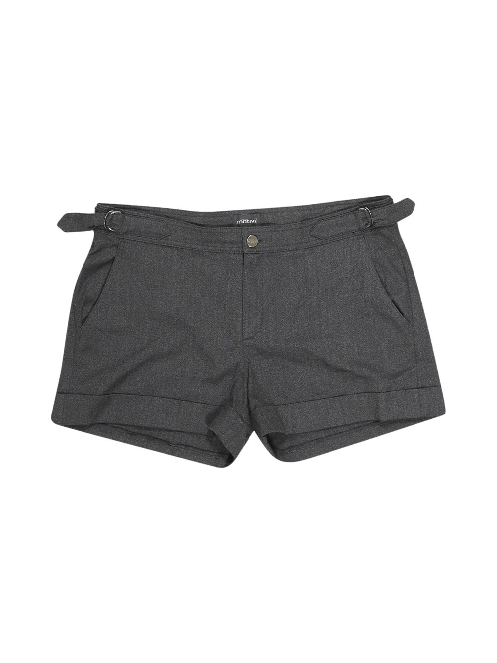 Front photo of Preloved Motivi Black Woman's shorts - size 12/L