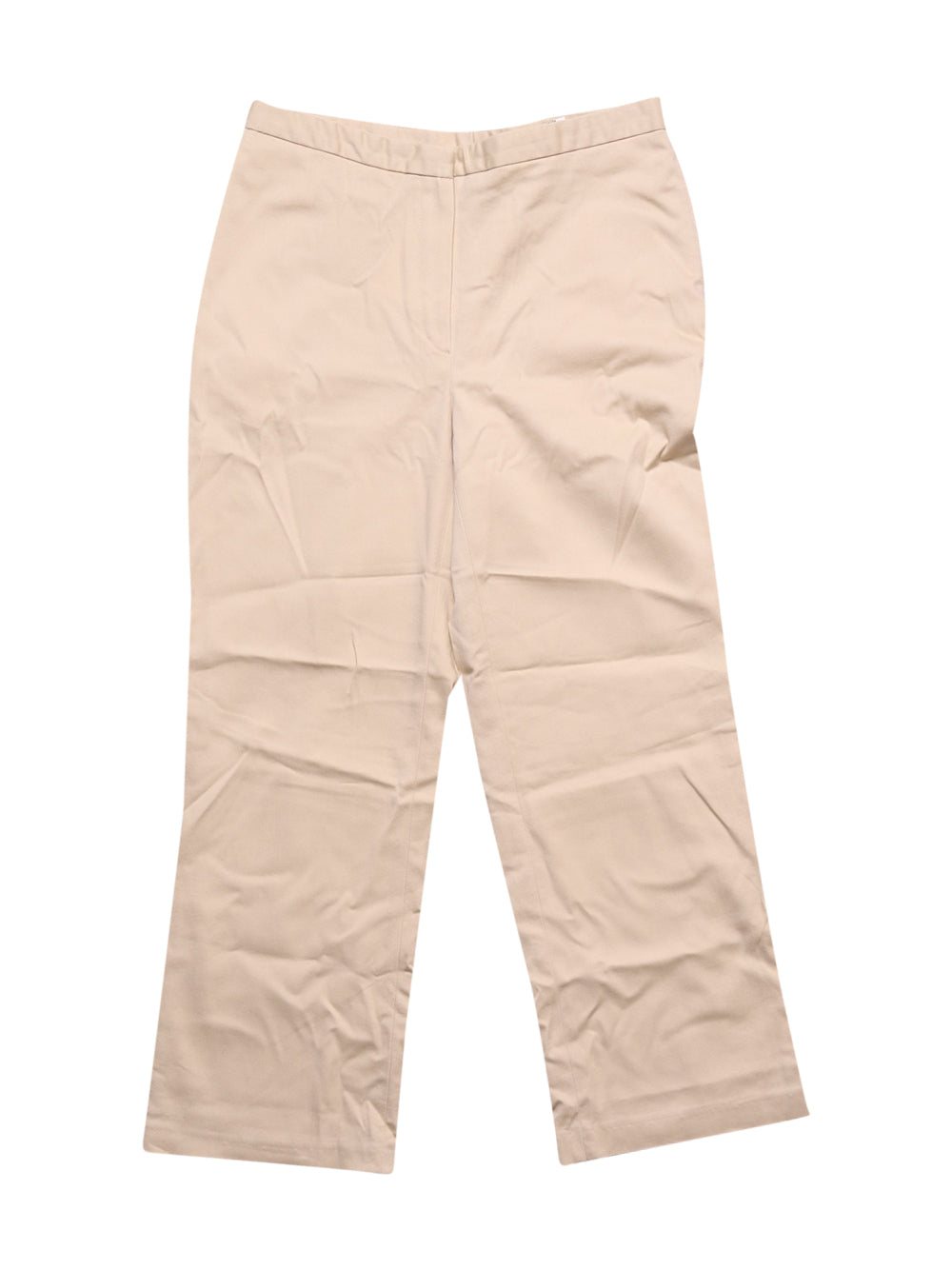 Front photo of Preloved Caroll Beige Woman's trousers - size 6/XS