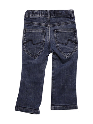 Back photo of Preloved Esprit Blue Boy's trousers - size 12-18 mths