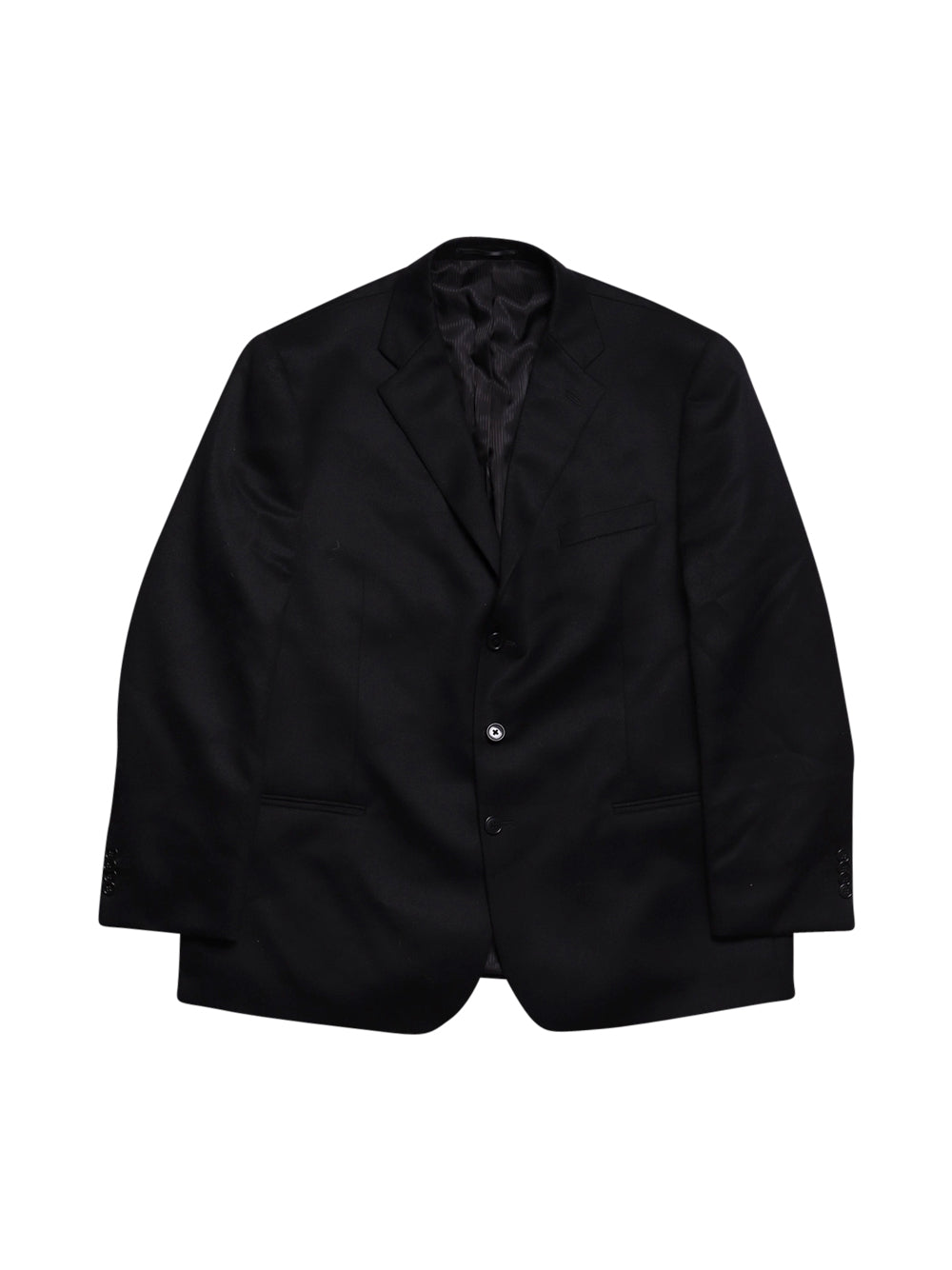 Front photo of Preloved Lanificio Campore Black Man's suit - size 48/XXXL